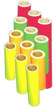 Tagesleuchtfolie in 3 Farben für auffällige Werbung und Schriften