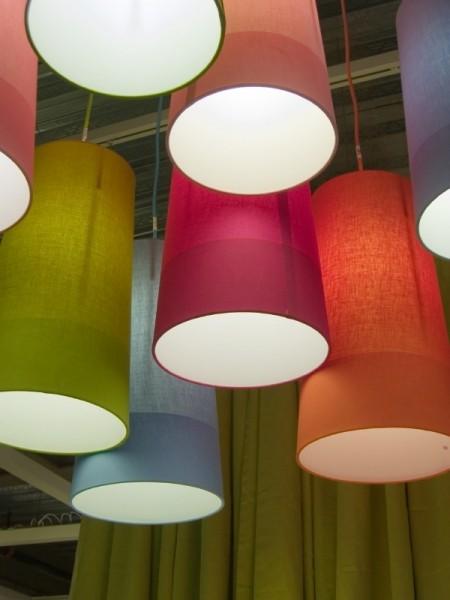 Lampenschirmfolie mit Silikonabdeckung für kreative Lampenschirme.
