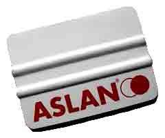 Aslan Kunststoff-Rakel, 10 cm lang